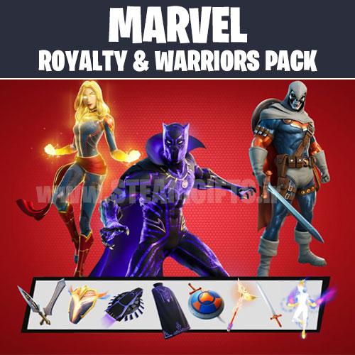 خرید-پک-MARVEL-royalty-and-warriors-pack-فورتنایت-fortnite