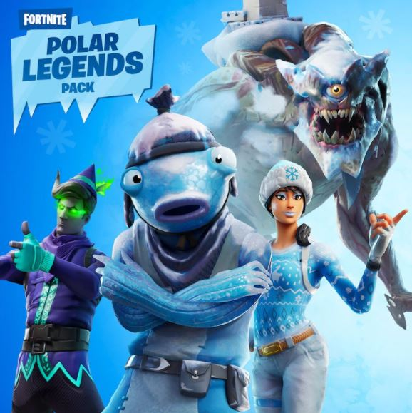 خرید fortnite polar legends pack برای فورتنایت