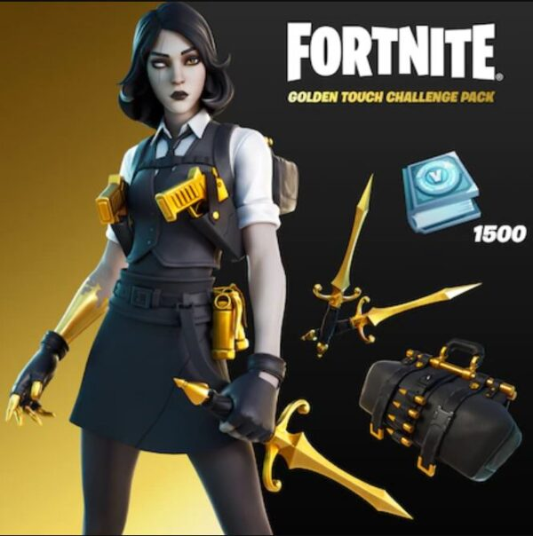 golden touch challenge pack