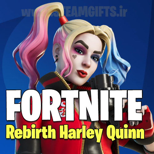 Rebirth-Harley-Quinn-پک-فورتنایت